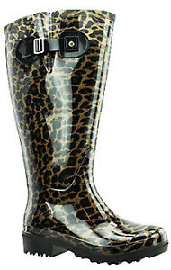 28e4effb410c Image is loading Lily-Extra-Wide-Calf-Rain-Boot-Leopard