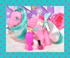 My-Little-Pony-MLP-G1-Vtg-1984-Sunshine-Ponies-WAVE-RUNNER-Pegasus-Seahorse