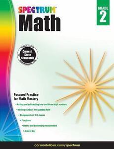 Spectrum-Math-Workbook-Grade-2