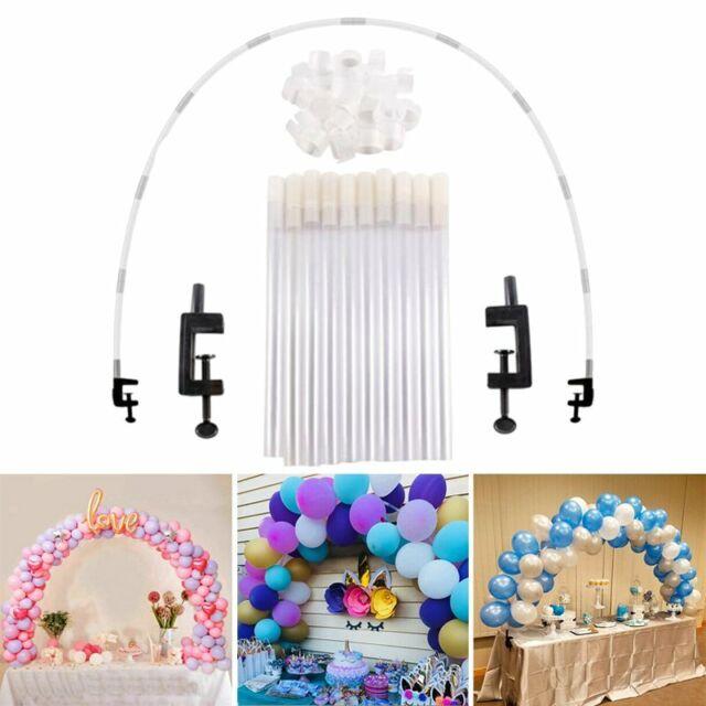 Table Balloon Arch Frame Kit Column Stand Base Birthday Wedding Party Decor