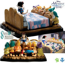 Disney Moment in time Snow white 7 dwarfs statue figure limited 250 seven