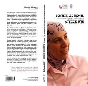 LIVRE  DERRIÈRE LES FRONTS Dr samah JABR  palestine