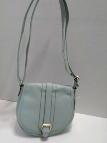 Crossbody Sage Snap Nwt Flap Handbag Purse Mint Closure George Shoulder 8vnmNw0O