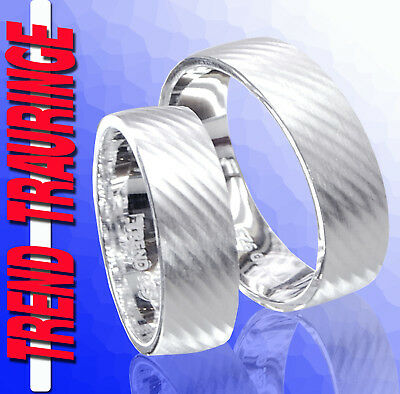 2 Silber Partnerringe Trauringe Verlobungsringe Eheringe & Gravur Gratis * T22 Halten Sie Die Ganze Zeit Fit