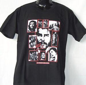 T-Shirt-Che-Guevara-Story-Schwarz-S-XXL