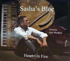 Sasha's Bloc - Heart On Fire   CD  LIKE NEW  Digipak  DB1436