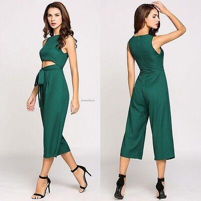 Stylish Women Ladies Clubwear Playsuit Bodycon Party Jumpsuit Romper Trousers