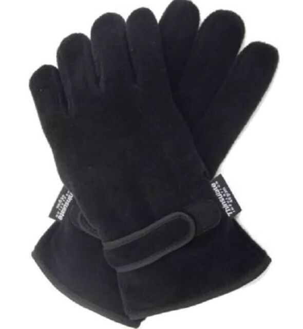 Mens Thermal Thinsulate Polar Fleece Gloves Ski Fishing Mororbike