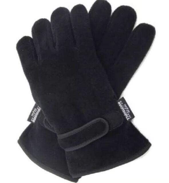 Thermal Thinsulate Polar Fleece Gloves Ski Fishing Mororbike Size M/L