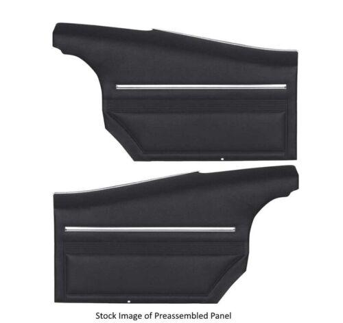 1968 Pontiac Firebird /& Trans Am Std interior Coupe Rear Side Panels Unassembled