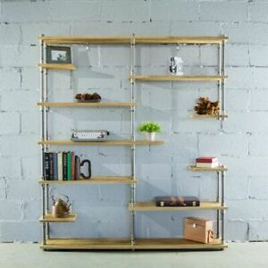 Nashville-Industrial-Mid-Century-64-Inch-Wide-Large-Open-Etagere-11-Shelf-Pi