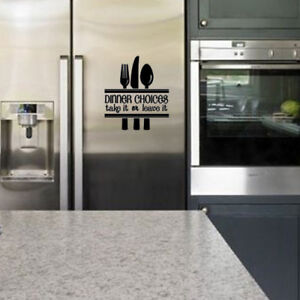 Dinner-Choices-take-it-or-leave-it-Decal-for-Home-Door-Windows-Wall-Fridge-Decor