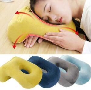 Soft Velvet Sleeping Pillow Travel Head