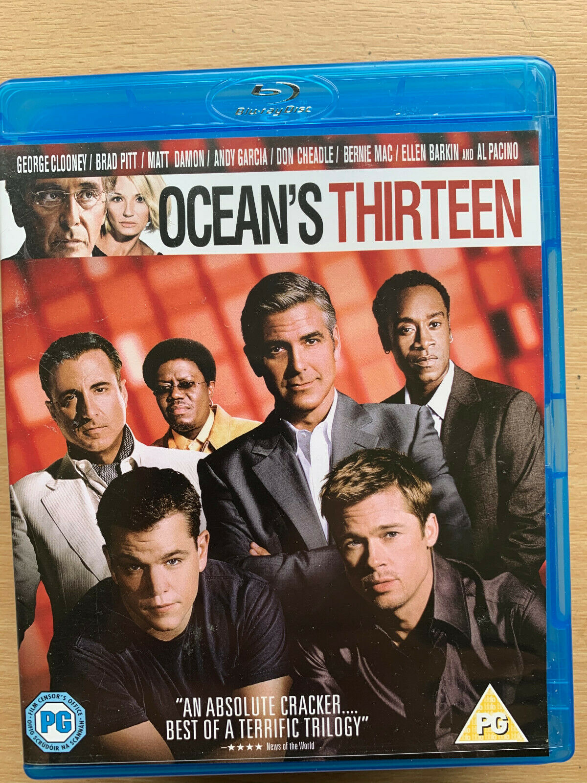 Ocean S Thirteen Blu Ray 2007 Heist Film W George Clooney Brad Pitt Matt Damon For Sale Online