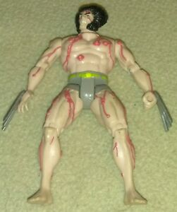 1992-Marvel-Toy-Biz-The-Uncanny-X-Men-Weapon-X-Wolverine-Figure-Vintage