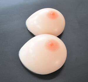 Image Is Loading 6000g Pair Large Silicone Breast Forms Kk Cup