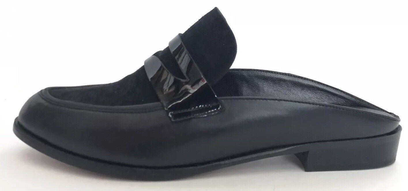 Robert Clercrie donna scarpe  Dimensione 38 NIB nero Mules  negozio di vendita outlet