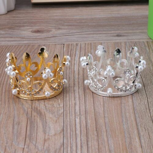 Newborn Boy Girl Photography Gold Crown Props Little Baby Photo shooting Props