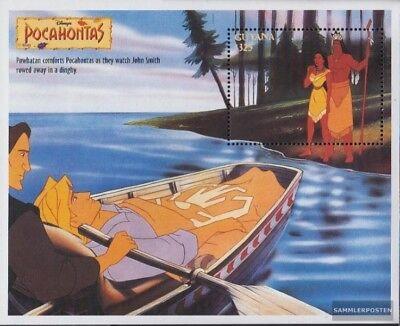 Original Guyana Block475 Postfrisch 1995 Walt Disney Zeichentrickfilm Demand Exceeding Supply kompl.ausg.