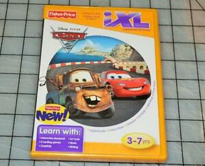 Fisher-Price-iXL-Cars-2-NEW-Learning-System-Disney-Pixar-NEW-SEALED