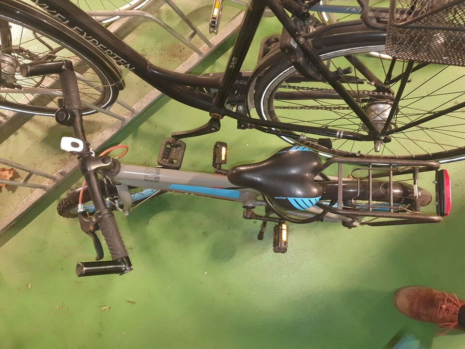 Unisex børnecykel, classic cykel, Winther