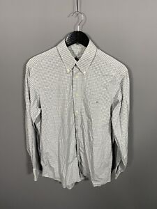 LACOSTE-Shirt-Large-Grey-Check-Great-Condition-Men-s