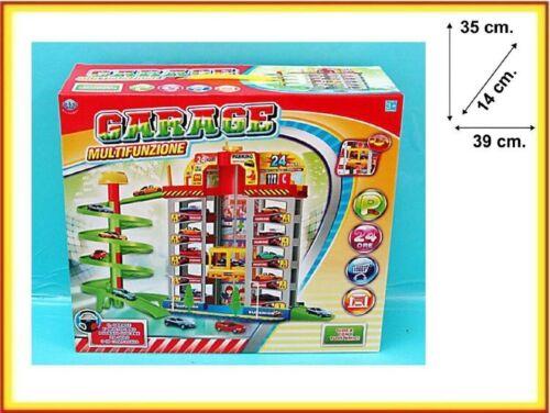 Box Garage 5 Piani 4 Auto Multifunzione Gioco Giocattolo Bambini sar