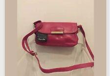 Massimo Dutti leather woman bag