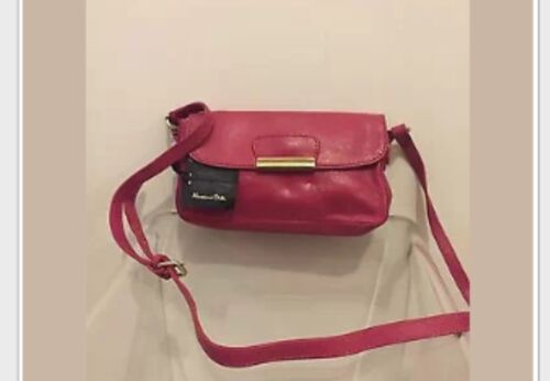 Massimo dutti bolso de cuero de mujer