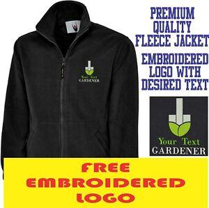 Personalised-Embroidered-Fleece-Jacket-GARDENER-Workwear-UNIFORM-LOGO