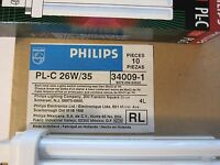 Box Of 10 Philips Compact Fluorescent Bulb Pl-c26w/35 26w Lots More Listed