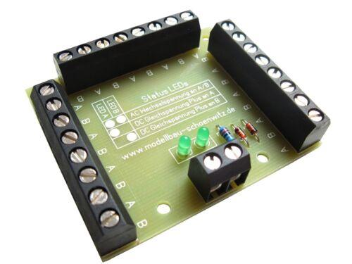 S054 - 5 unid. electricidad de distribución + luces LED de estado 24 veces de distribución listo módulo v1.0