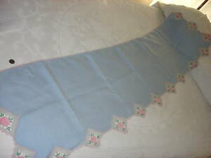 Antique-Crocheted-Floral-Edge-PIANO-RUNNER-17-034-by-68-034