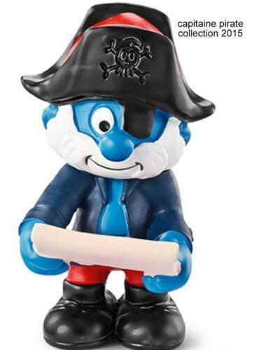 20760 Schtroumpf capitaine pirate schtroumpfette  Smurf pitufo puffo puffi  2015