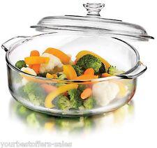 Libbey Glass Set Glass Casserole Dish Covered Casserole Kitchen Equipment New