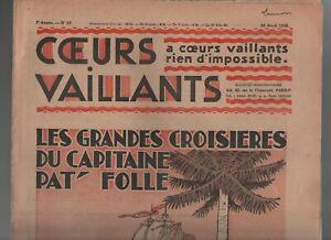 COEURS-VAILLANTS-1935-n-17-Tintin-et-Milou-en-Orient