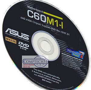 ASUS C60M1-I AMD AHCI Windows 7