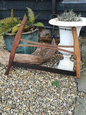 Antique Vintage Style Wooden Bow Saw Crosscut Buck Saw Sharp Cutter Farm Tool