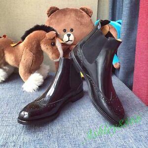 2019 femmes bottines les tirer chaussures vogue automne oxfords cuir loisirs brogue sur m0vONw8n