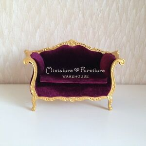 1 12 Dollhouse Miniature Furniture Handcrafted Living Room