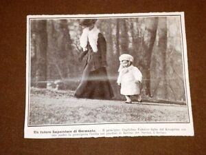 Il-Principino-Guglielmo-Federico-e-la-Principessa-Cecilia-nel-1908-Berlino