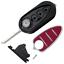 Coque-BOITIER-CLE-telecommande-Alfa-Mito-Giulietta-GTA-Brera-159-3-BOUTONS miniature 2