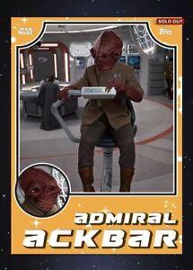 Topps Star Wars Digital Card Trader Retro Galaxy Selects AT-ST Insert