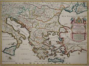 Ici Faire Table Nova Imperii Turcarum En Europe-osmanisches Riche, Ottoman-jaillot 1705-afficher Le Titre D'origine Jxfg9xry-10111136-268966864