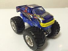 Hot Wheels Monster Jam SUDDEN IMPACT 1:64th Scale Truck Edge Glow Chassis Loose