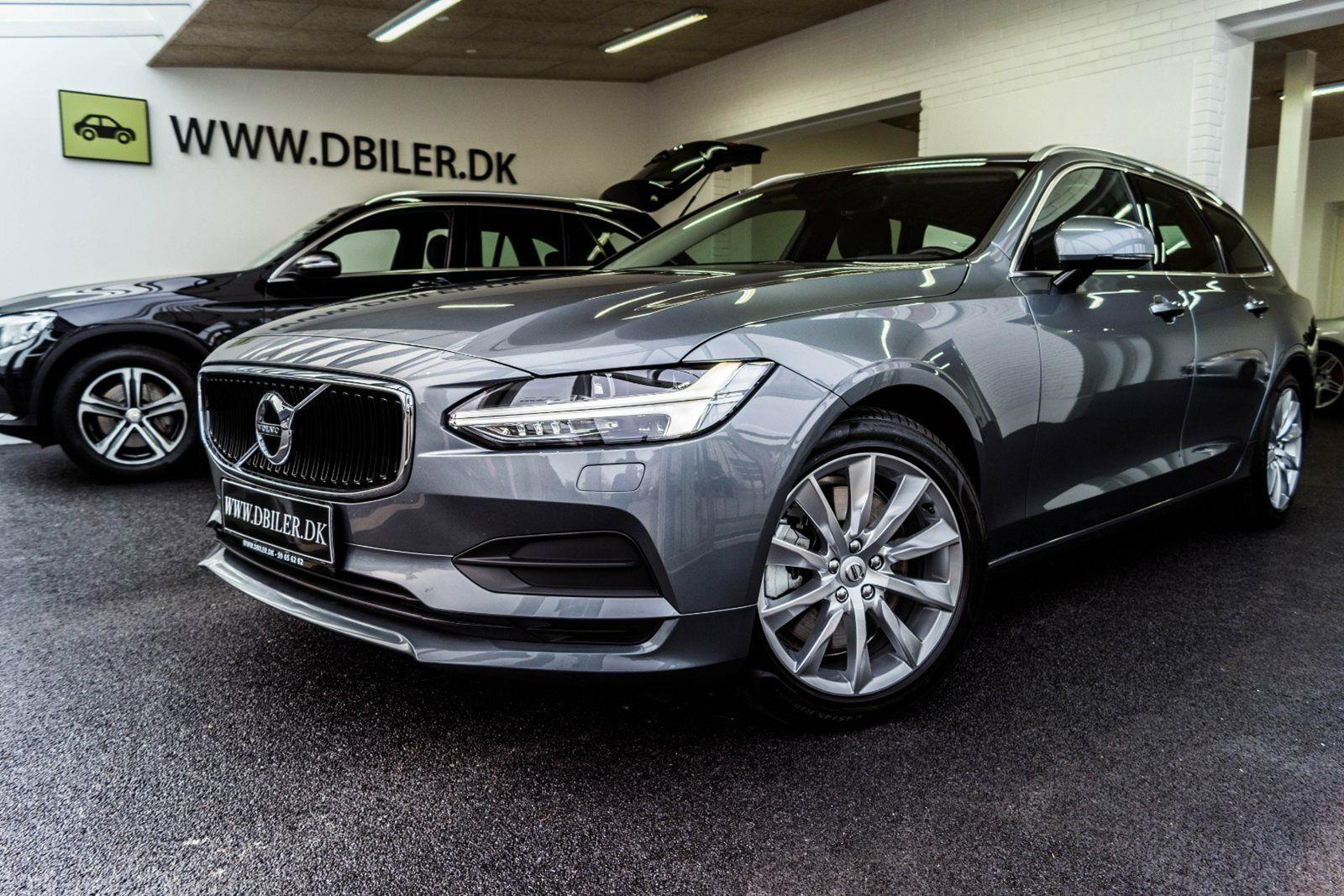 Volvo V90 2,0 T4 190 Momentum aut. 5d - 598.000 kr.