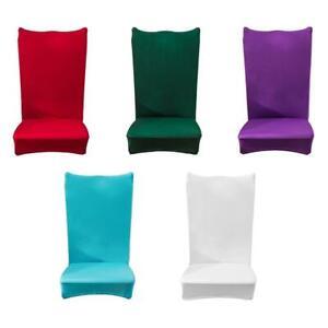 Housse-de-Chaise-elastique-Extensible-Salle-a-Manger-Couvre-Housse-de-siege-Neuf