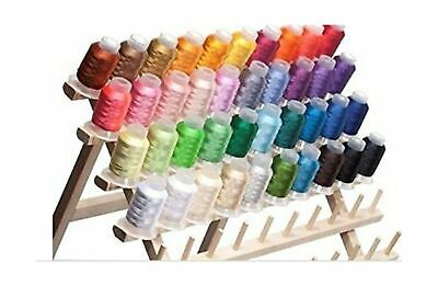 550 Yd Spools 40 Color Embroidery Machine Thread Set Premium Polyester 40wt