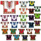 Dashiki African Tribal Festival Hippie Shirt Men Caftan Dress Women Free Size