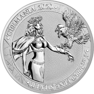Medaille-argent-1-Once-Germania-Aigle-a-deux-Tetes-2020
